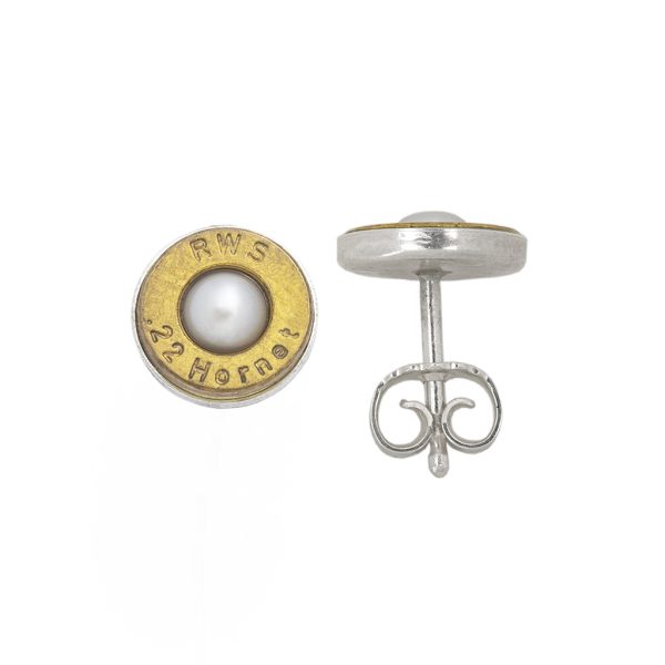 HEUBATSPITZ – Patronenbodenohrstecker mit Perle