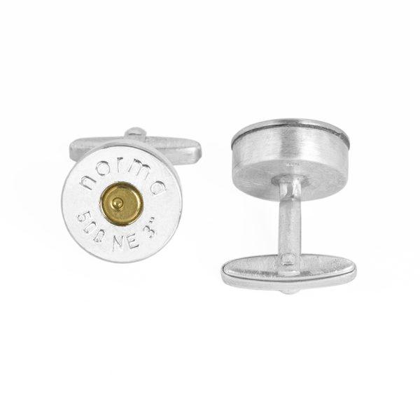 GROSSER DAUMEN – Manschettenknopf mit Patronenboden
