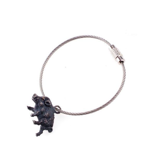 SCHATTENBERG – Wildschwein Schlüsselanhänger