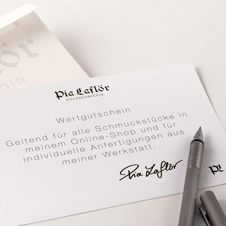 Pia Laflör – Gutschein